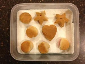 If cutting stars and hearts out of a sandwich for my son's preschool lunch isn't patience, I don't know what is.