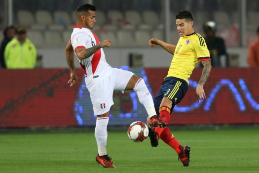 Soccer Football - 2018 World Cup Qualifiers - Peru v Colombia - Nacional Stadium, Lima